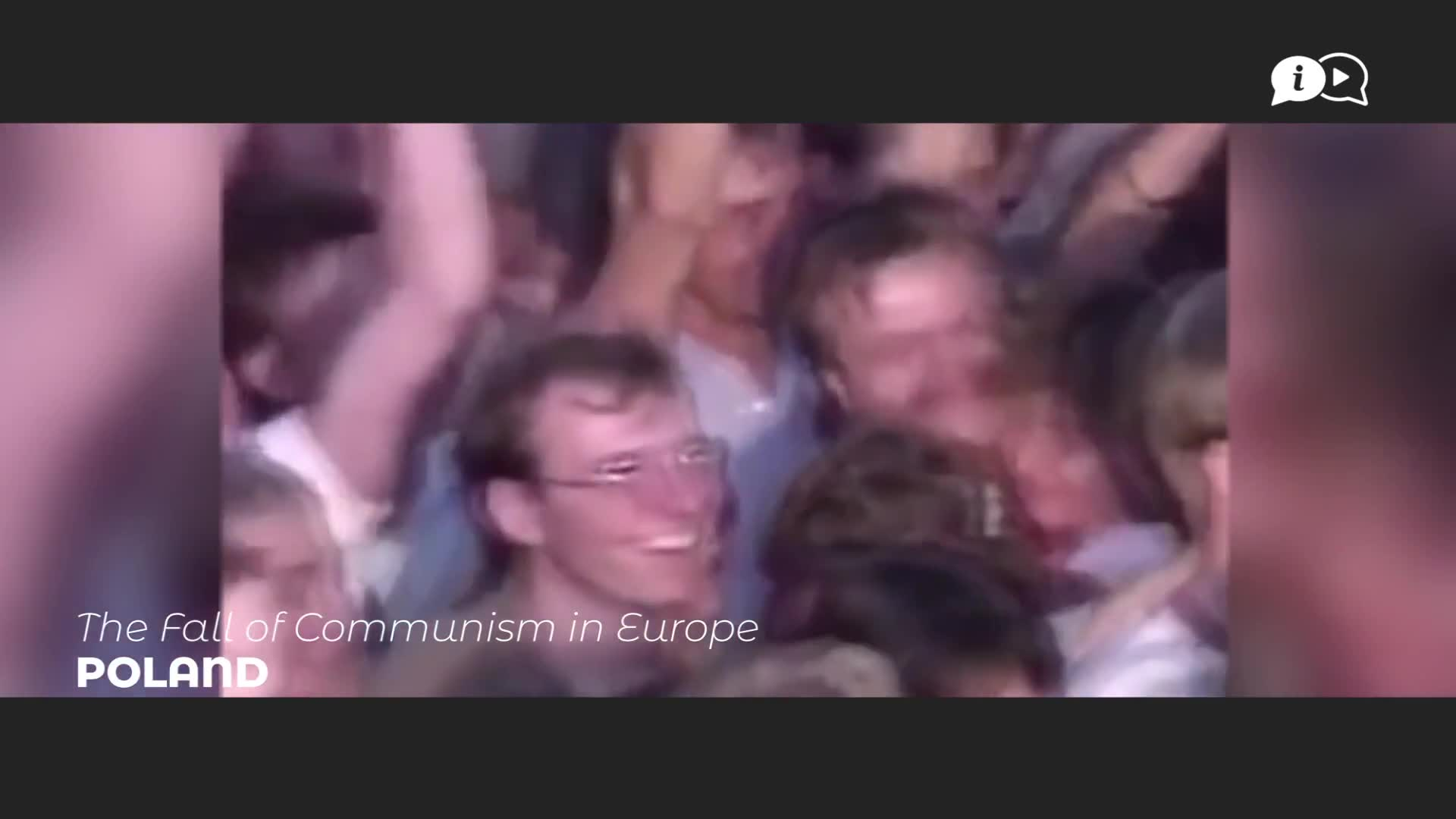 THE FALL OF COMMUNISM IN EUROPE